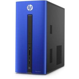 Torre HP AZUL Desktop AMD E-1-1200 4GB/500GB/W8