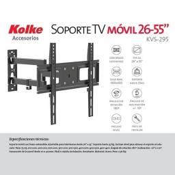 Soporte p/tv KOLKE KVS 295 26´´ a 55´´