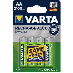 Pila recargable Varta AA de 2100 mah
