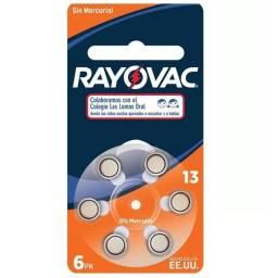 Pila para audifono Rayovac V13