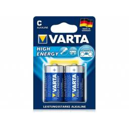 Pila alcalina VARTA C High Energy