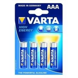 Pila alcalina VARTA AAA High Energy