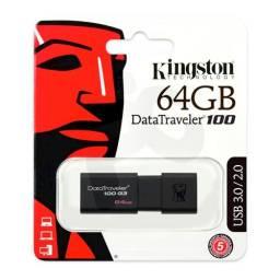 Pendrive KINGSTON 64gb Data100 3.0