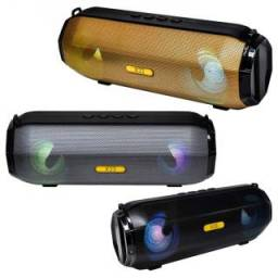 Parlante portatil Eclipse tubo X33 bt/sd/fm led