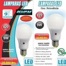 Lampara Led Eclipse E27  9w