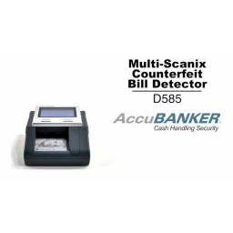 Detector de dinero falso Accubanker