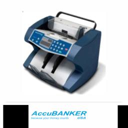 Contador de billetes comercial Accubanker