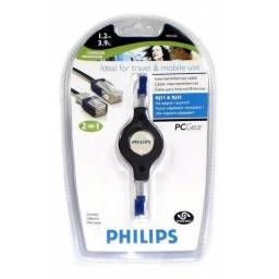 Cable retractil PHILIPS RJ45