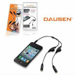 Cable audio splitter  Dausen 2 auriculares 3.5f  TR-CA201