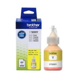 Botella de tinta BROTHER Yellow BT-5001