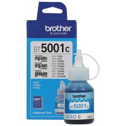 Botella de tinta BROTHER Cian BT-5001