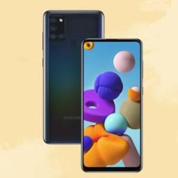 Celular Samsung A 21S 4GB 64GB