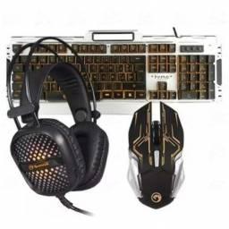 Combo Marvo Teclado, mouse y auricular Gaming CM303
