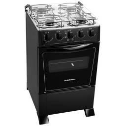 Cocina Punktal Supergas negra PK 375c