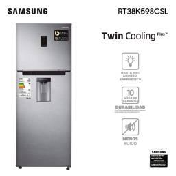 Refrigerador Samsung Twin Cooling RT38K598CSL