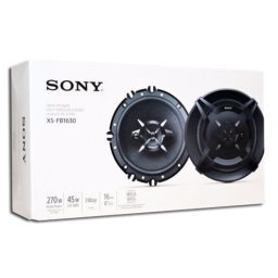 Parlante P/Auto Sony XS-FB1630