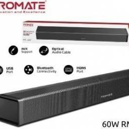 Barra de sonido Promate Bluesbar 60W Aux/USB/Optical/HDMI