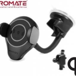 Soporte Cargador Inalamb de auto/ventosa Alphamount Promate