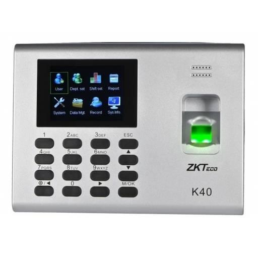 Reloj Biométrico ZK K40