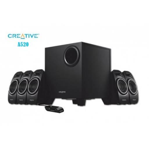 Parlante CREATIVE A520 5.1 -37W RSM