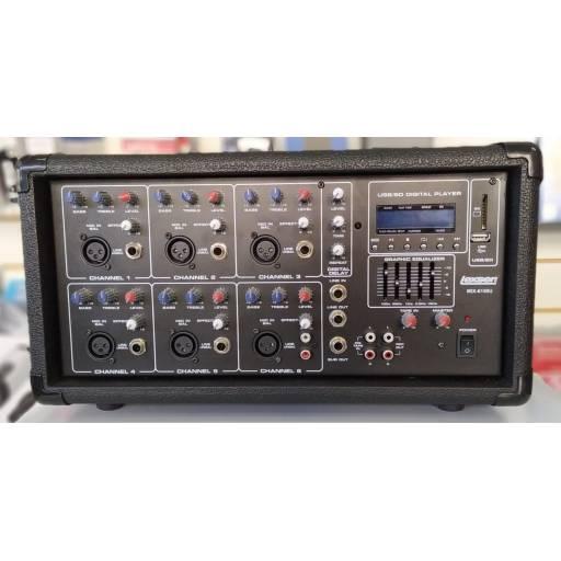 Potencia Mixer Lexsen MIX6150U 6Ch MP3