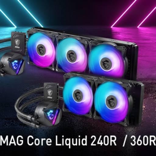 Sistema de Refrigeración MSI Mag Core 240R Liquid
