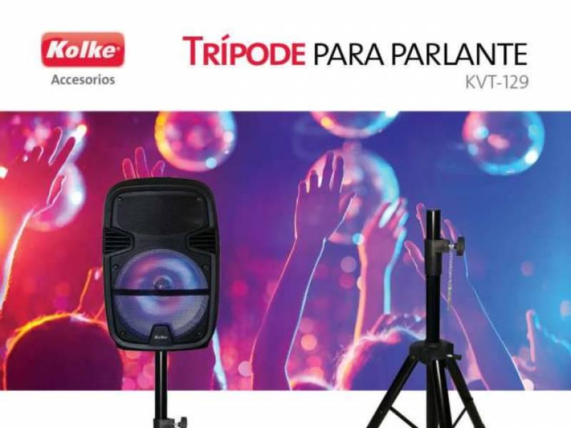 Tripode Kolke KVT 129 P/Parlantes