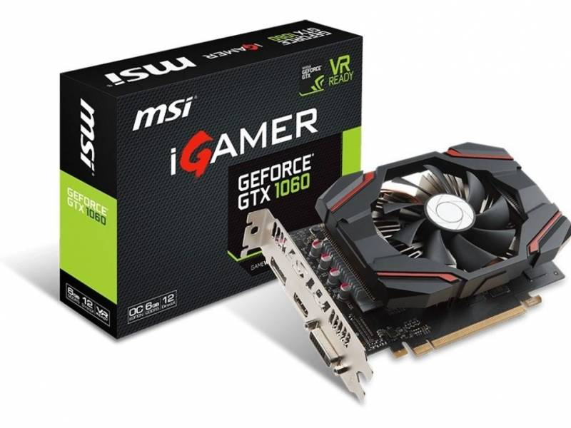 Tarjeta de Video MSI Gforce GTX1060 6G
