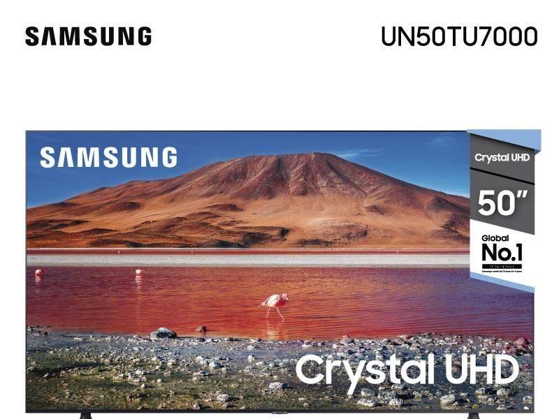 "TV Samsung Smart 50"" 4K UN50TU 7000"