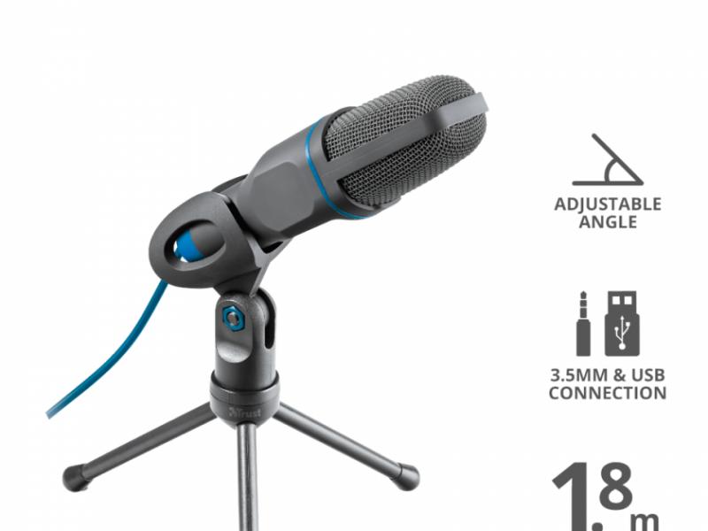 Micrófono Trust mico USB